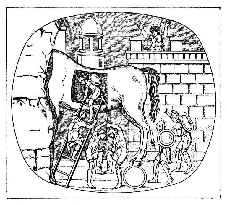 Trojan Horse Trojan War Trojan Horse Greek Mythology