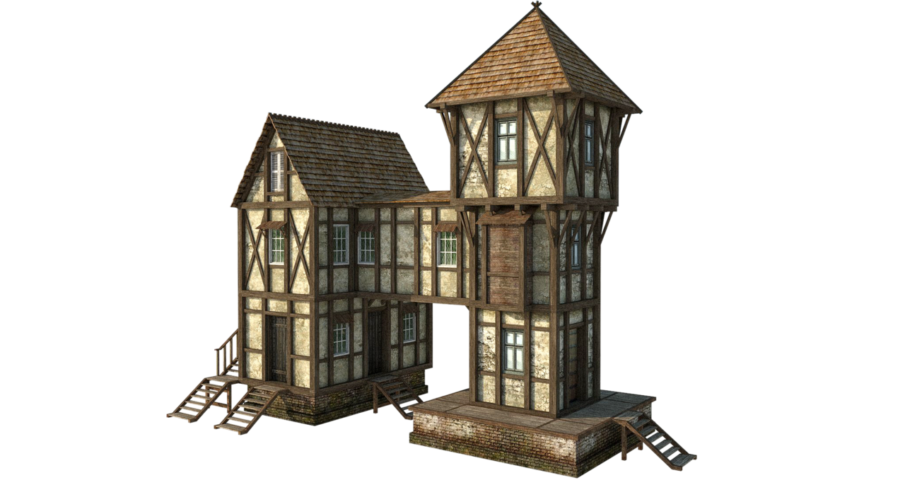 Medieval house concept art google search animations for Medieval home plans