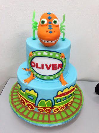 dinosaur train cake Google Search Jalens 3rd Birthday