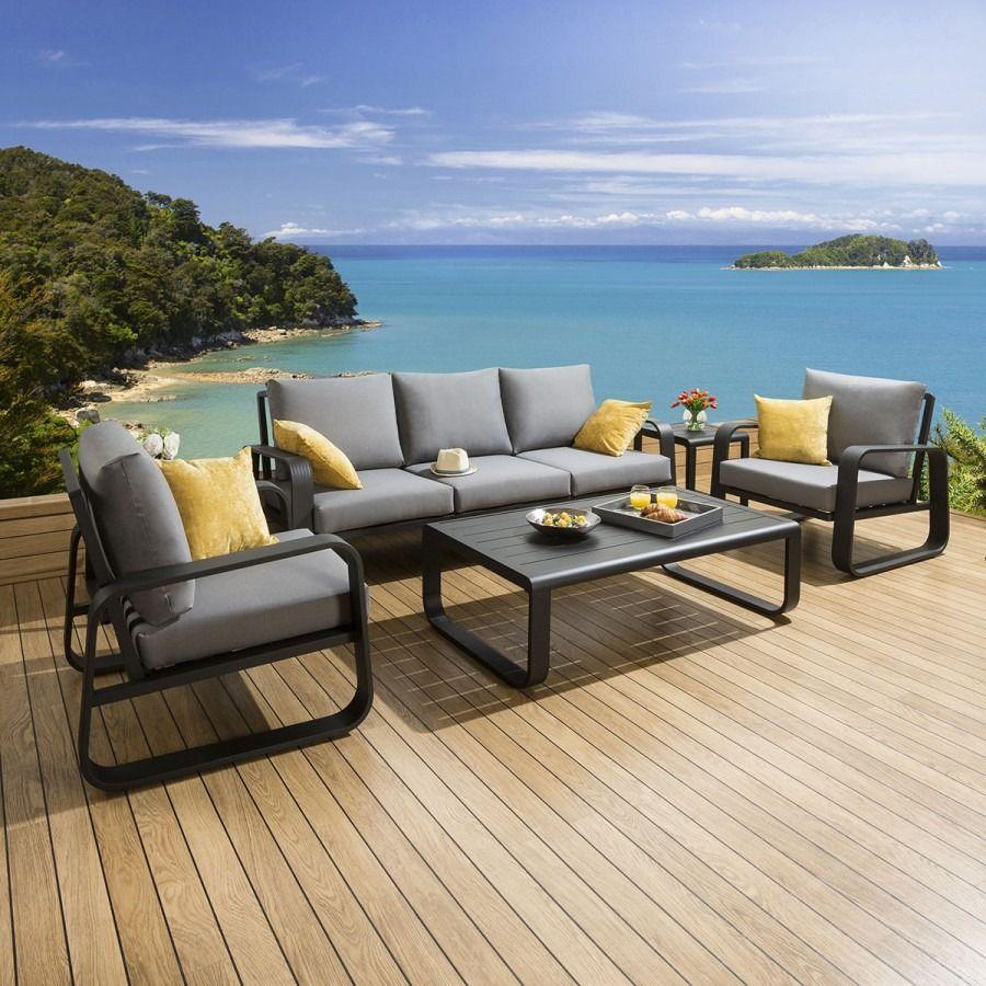 Quatropi  Luxury outdoor furniture, Sofa set, Garden sofa