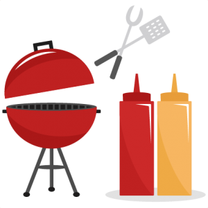 bbq set svg cutting files summer svg cut files grill svg files rh pinterest com Animated Pig BBQ BBQ Silhouette Clip Art