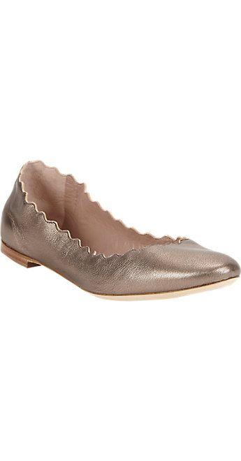 Chloé Scalloped Ballet Flat at Barneys.com