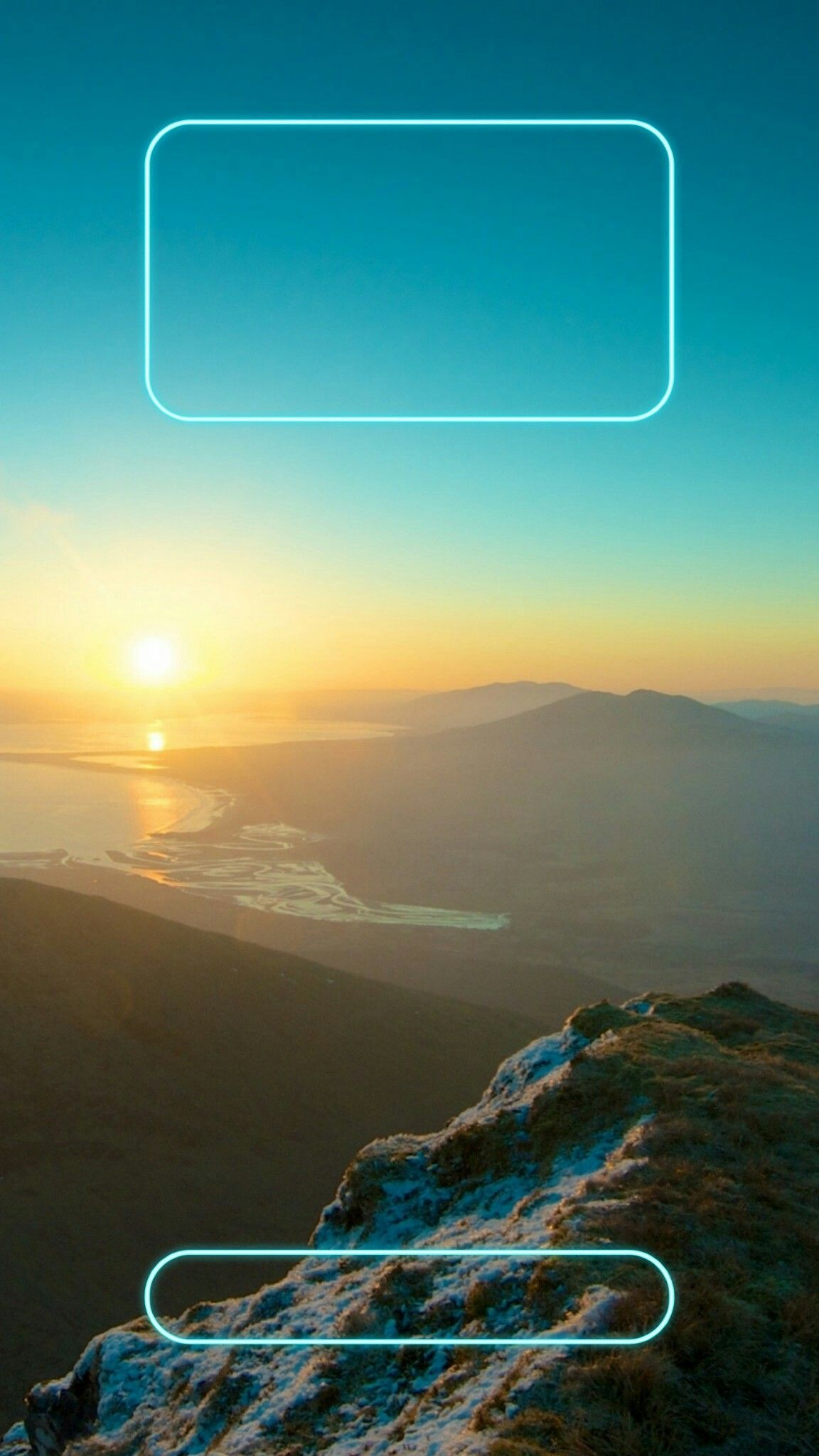 Moutain Peak Lockscreen Lock screen wallpaper iphone