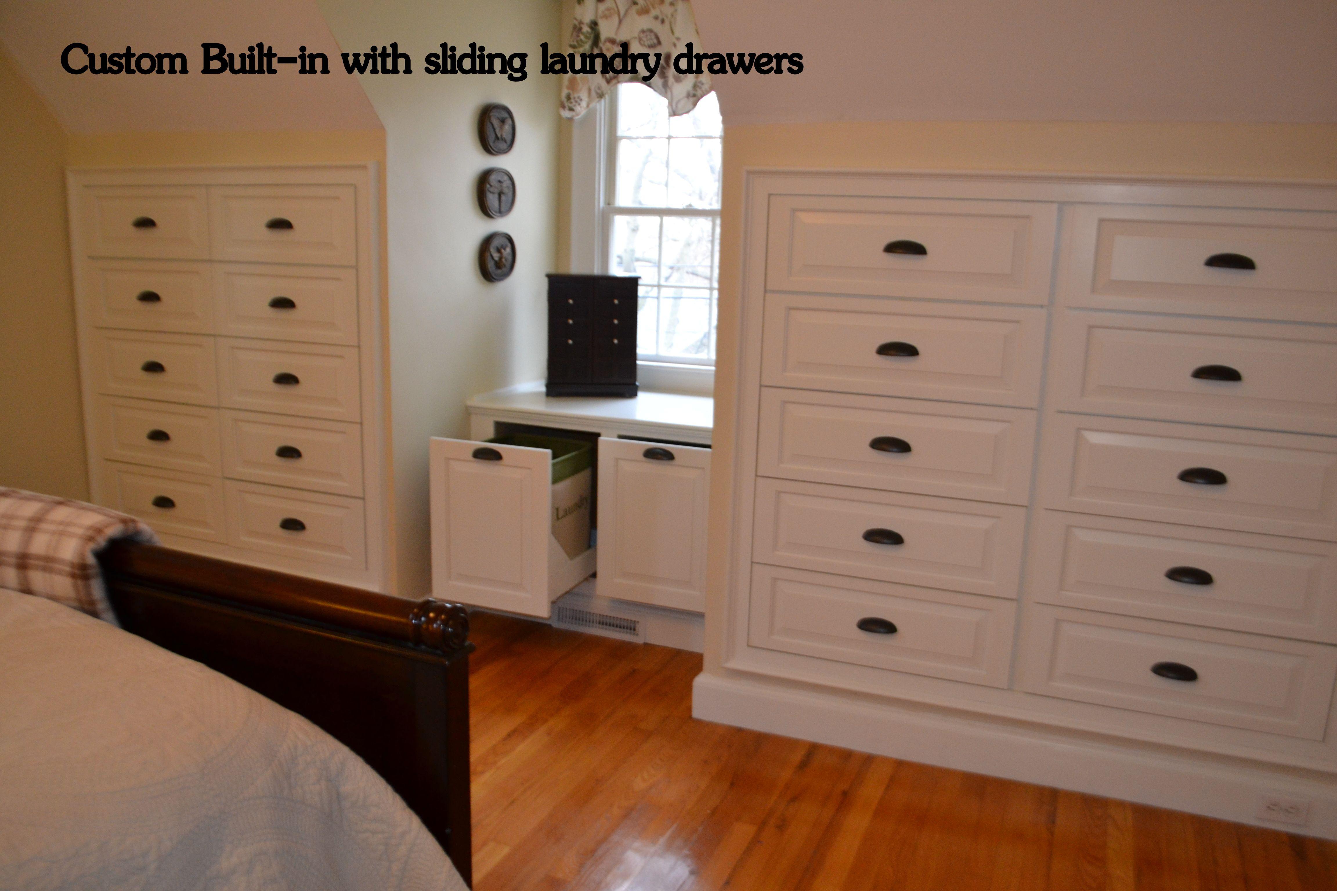 Builtin Dressers And Hamper
