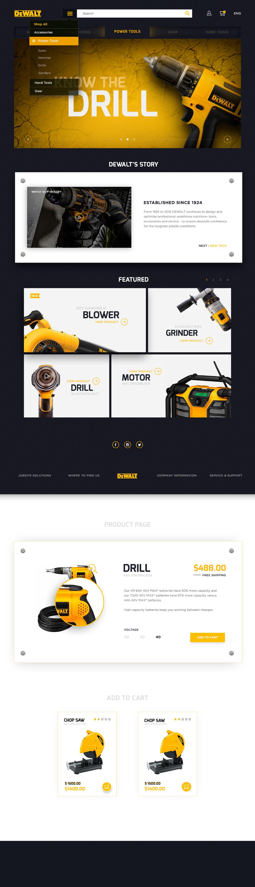 Behance For You Web Layout Design Webpage Design Banner Design Layout