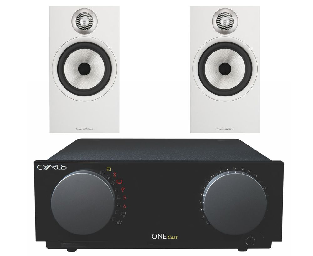 Cyrus ONE Cast Streaming Amplifier with Bowers and Wilkins