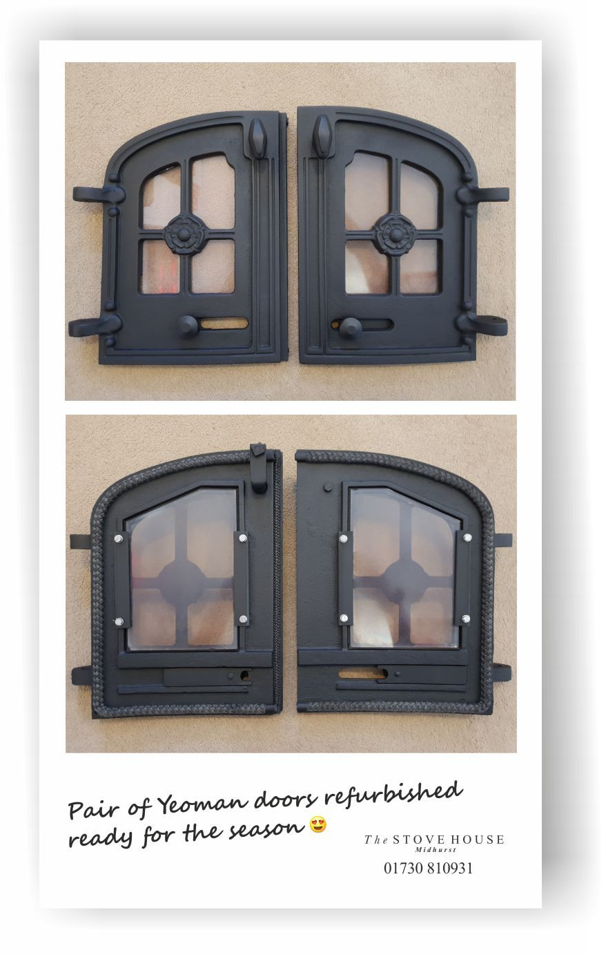 Stove Glass Sooting Up Using Too Much Fuel If Your Woodburner Glass Has Gone Black Your Stove Rope Seals M Wood Burning Stove Stove Installation Inset Stoves