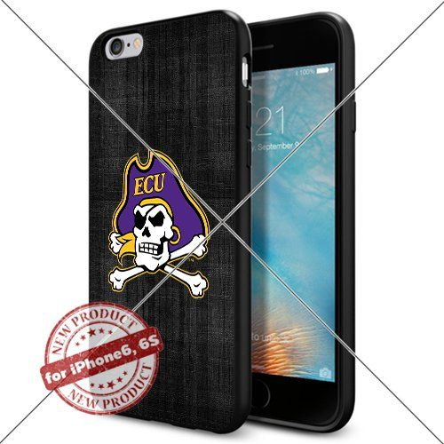 WADE CASE East Carolina Pirates Logo NCAA Cool Apple iPhone6 6S Case #1116 Black Smartphone Case Cover Collector TPU Rubber [Black] WADE CASE http://www.amazon.com/dp/B017J7FMFO/ref=cm_sw_r_pi_dp_YuEwwb1QG8FHN