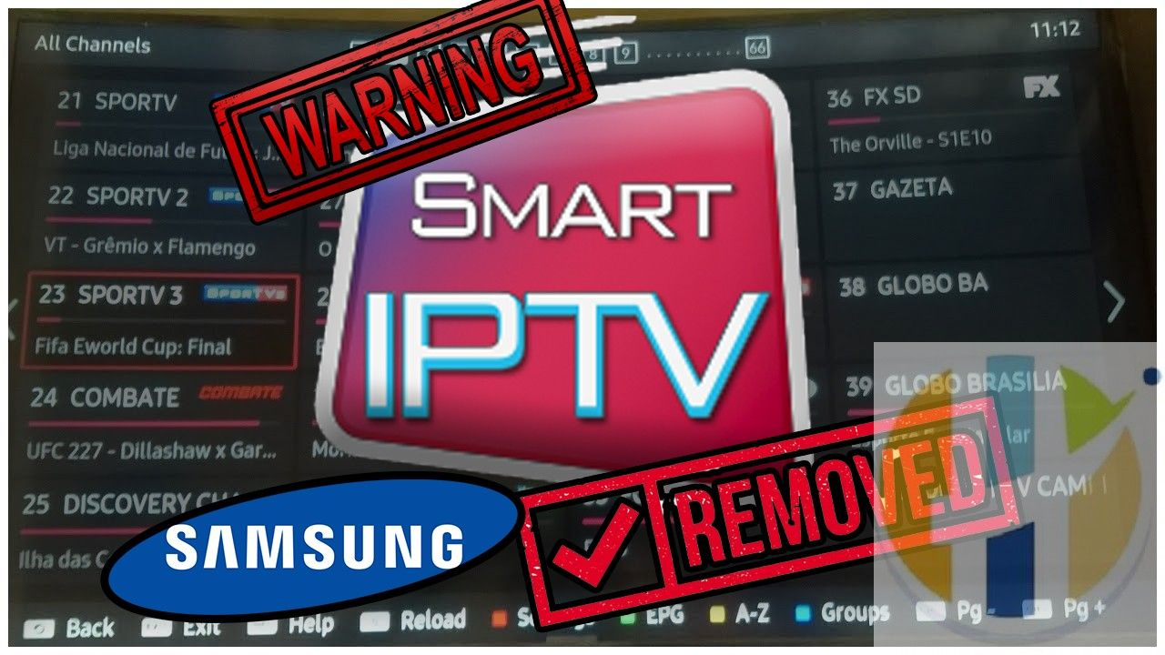Warning Samsung Removes Smart Iptv Do Not Rest Your Tv