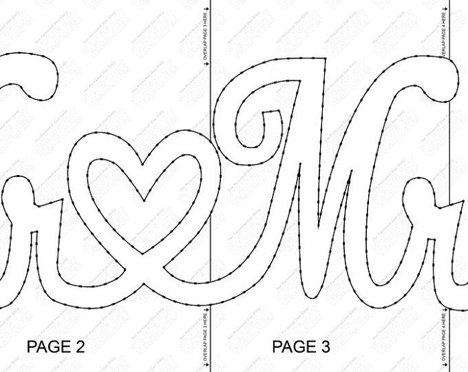 Mr and mrs string art string art templates and string art mr mrs string art template maxwellsz