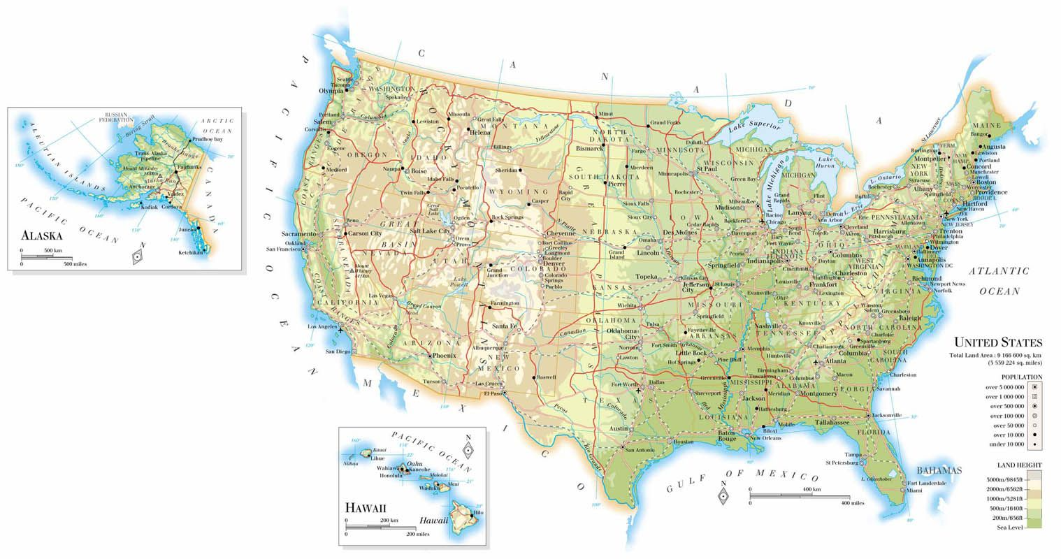 Select from a variety of USA State Maps including USA outline maps ...