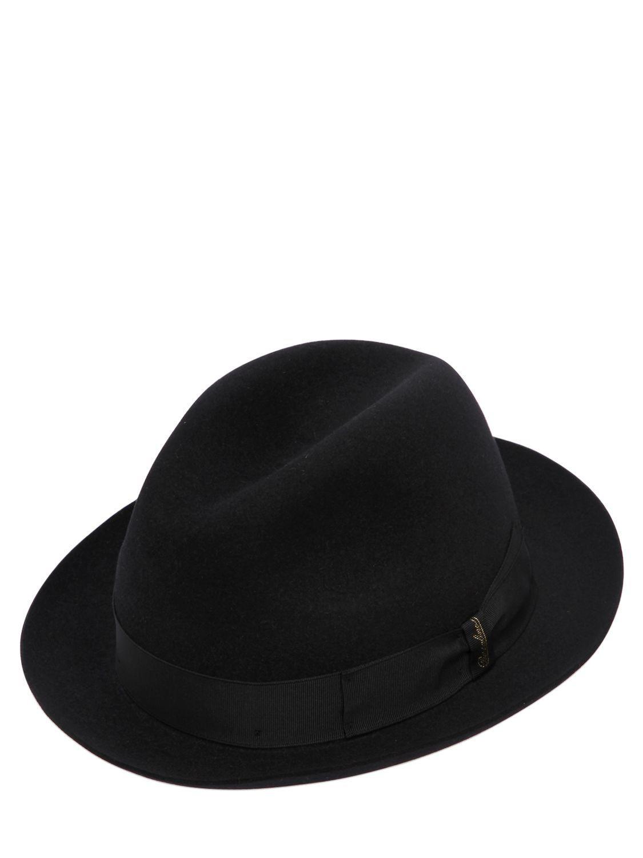 a5f9d4e4da716c BORSALINO MARENGO FUR FELT HAT. #borsalino | Borsalino | Felt hat ...