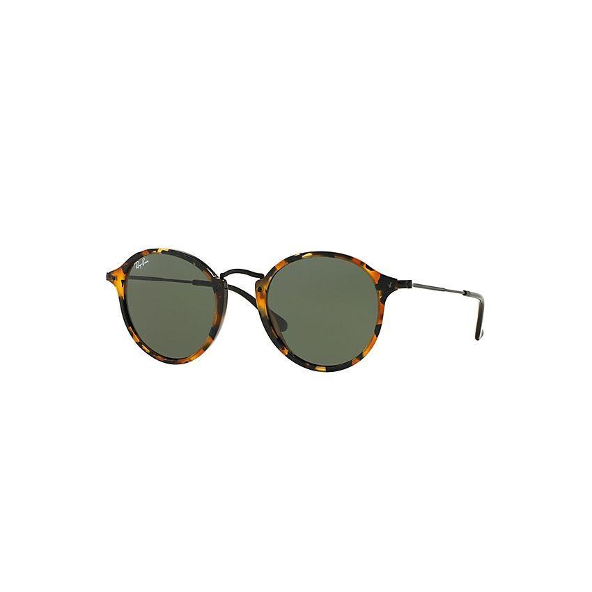 e87e99768c Compra Lentes de Sol Ray-Ban RB2447 1157 Round Fleck-Verde Clasico G-15  online ✓ Encuentra los mejores productos Lentes de sol Redondos hombre Ray  Ban en ...