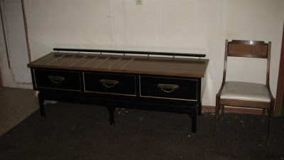 Best Mid Century American Of Martinsville Hotel Furniture Black 400 x 300