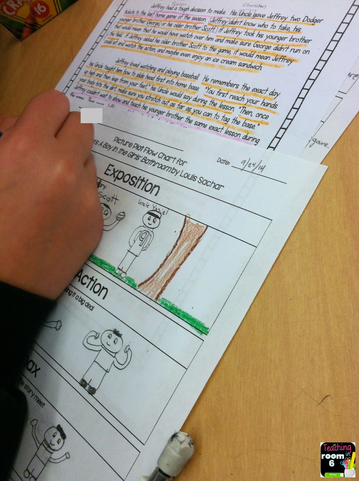 Students Use Text Annotation Toyze A Story For All Of