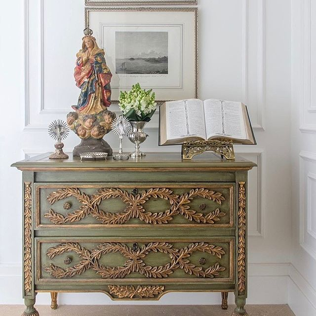 Image result for altar são jorge e  nossa senhora altar devocao casa