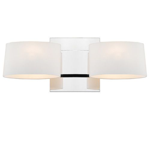 Found it at AllModern - Clio 2 Light Wall Sconce