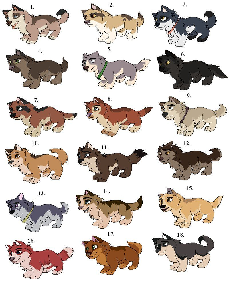 Pups for adoption (Gone) by ClaireCooper on DeviantArt