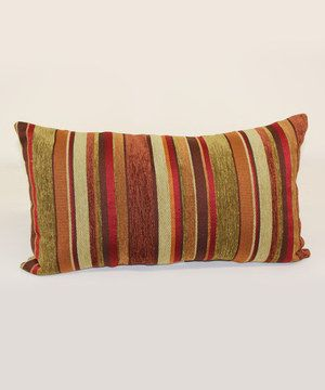 Shiraz Carnival Stripe Throw Pillow Zulily Stripe Throw Pillow Throw Pillows Pillows