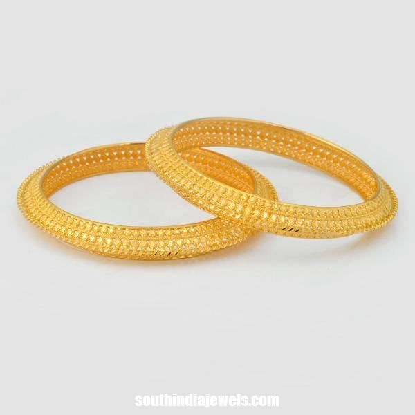 Gold Bangle Latest Model | Bangles Collections | Pinterest ...