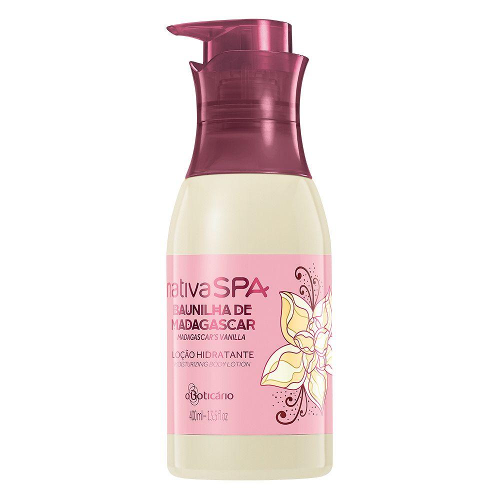 7dd9f9b6b Nativa SPA Loção Hidratante Desodorante Corporal Baunilha - O Boticario