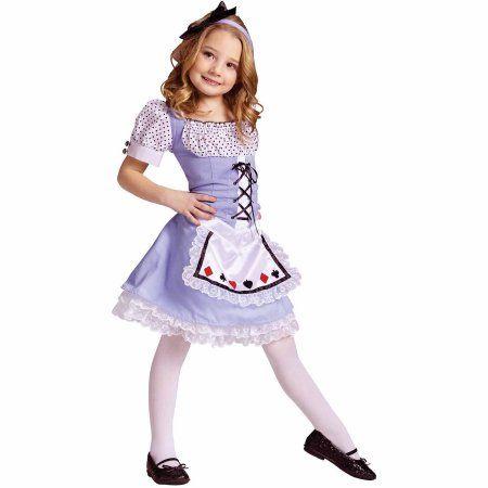 Alice Child Halloween Costume, Girl\u0027s, Size Large, Multicolor - halloween costume ideas for tweens