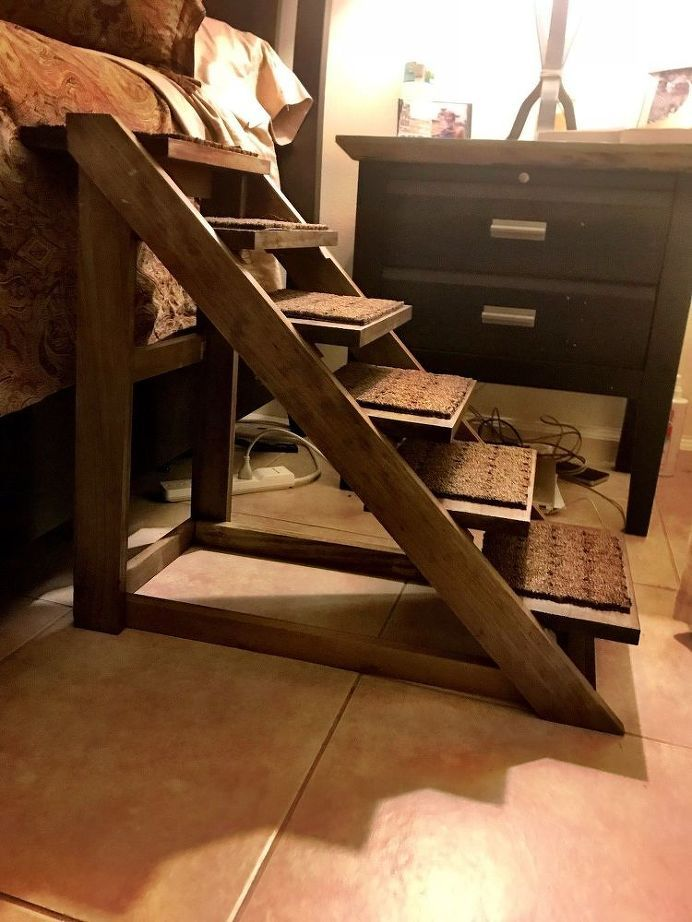 Best Doggie Stairs With Style Diy Pet Stairs Decor Dog Stairs 640 x 480