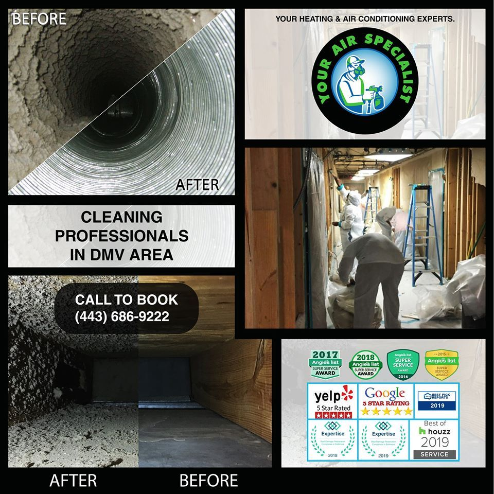 Benefits You Get From Hiring Our Duct Cleaning In Ellicott City
