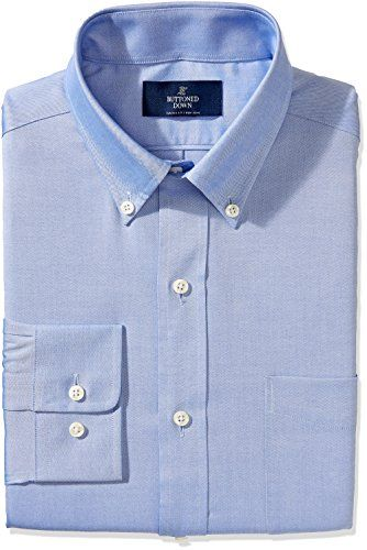 Buttoned Down Men's Non-Iron Classic Fit Pinpoint Button Collar Dress Shirt - http://www.darrenblogs.com/2017/01/buttoned-down-mens-non-iron-classic-fit-pinpoint-button-collar-dress-shirt/