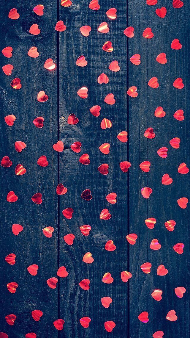 iPhone wallpaper Happy Valentine's Day Сердце обои, Обои