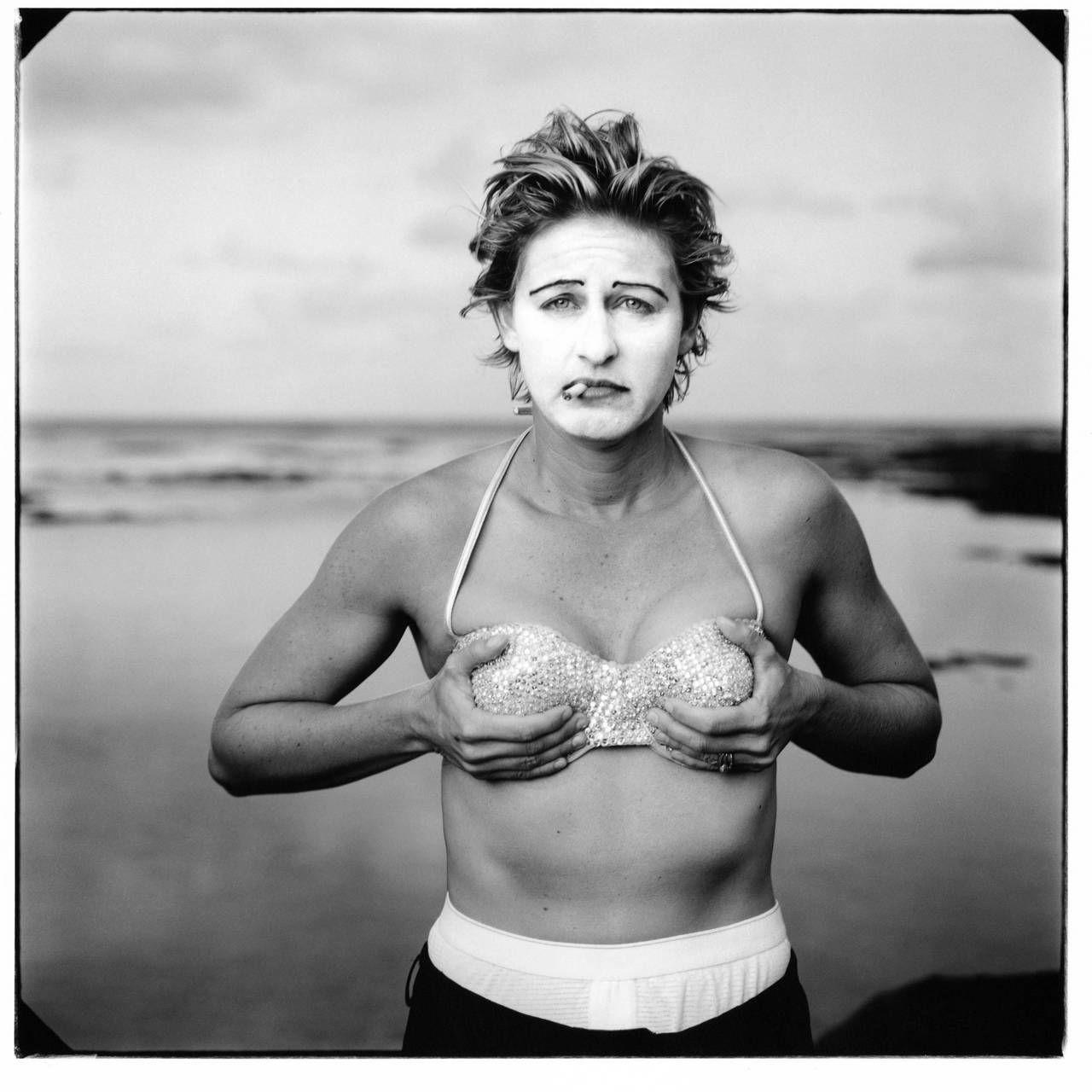 #Ellen Degeneeres no podía faltar delante del objetivo de #AnnieLeibovitz
