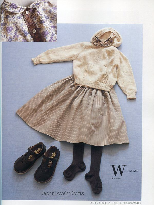 Baby Boy & Girl Clothes Patterns, Japanese Sewing Book, New York ...