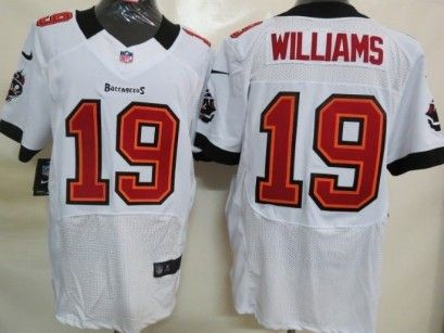 Nike Tampa Bay Buccaneers #19 Mike Williams White Elite Jersey