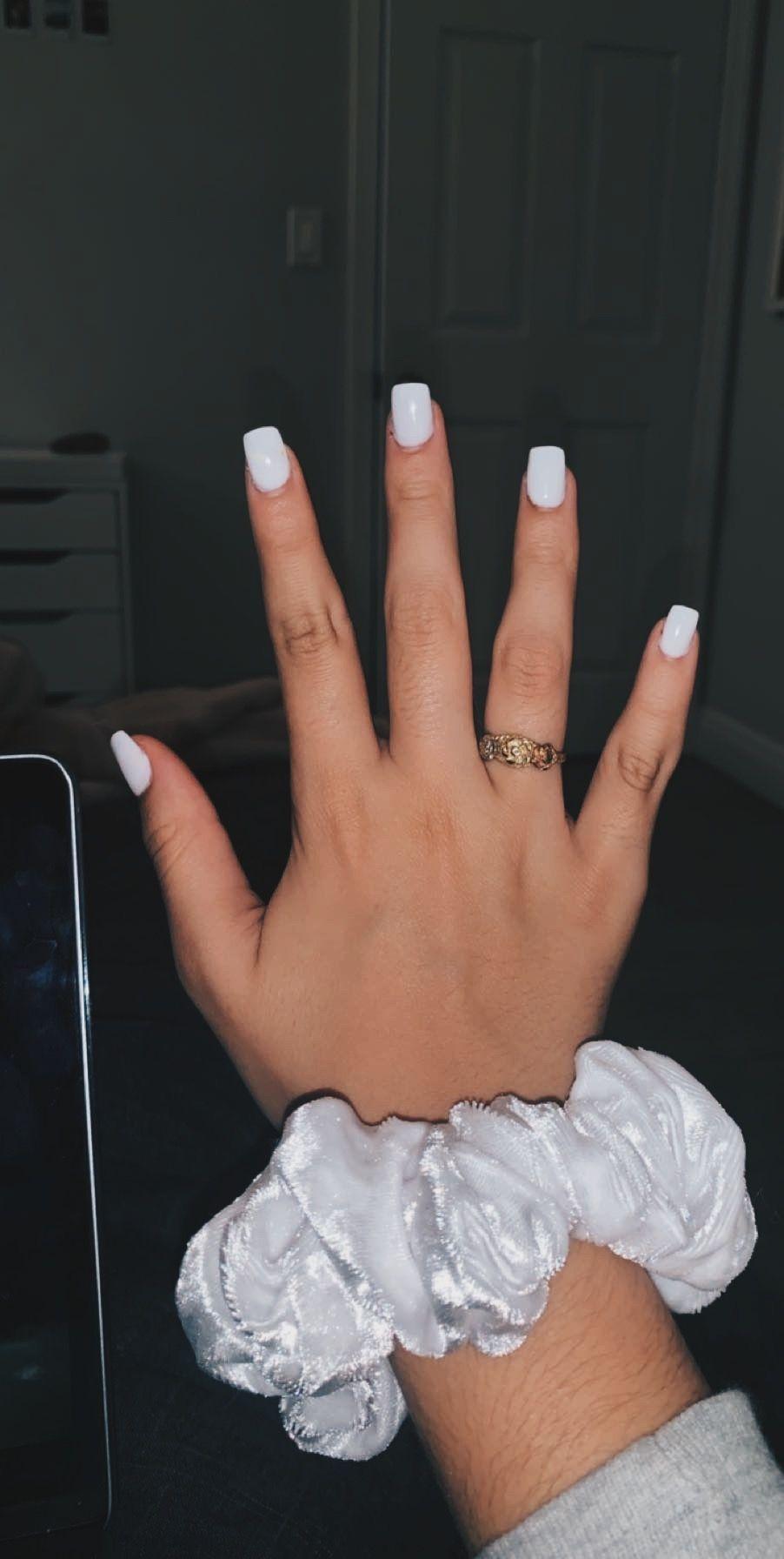 Vsco Francescaparodi Acrylic Nails Coffin Short Short Acrylic Nails White Acrylic Nails