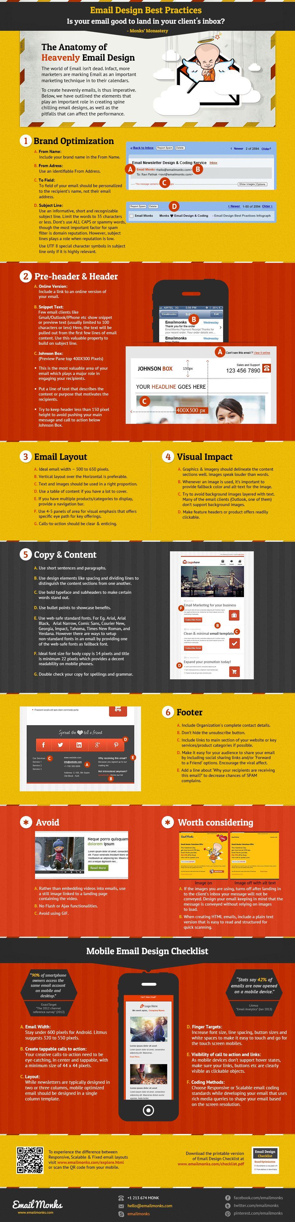 Hoe een perfecte nieuwsbrief te ontwerpen - #infographic