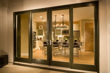 Patio Doors Contemporary Interior Los Angeles Arcadia Clic Window Co