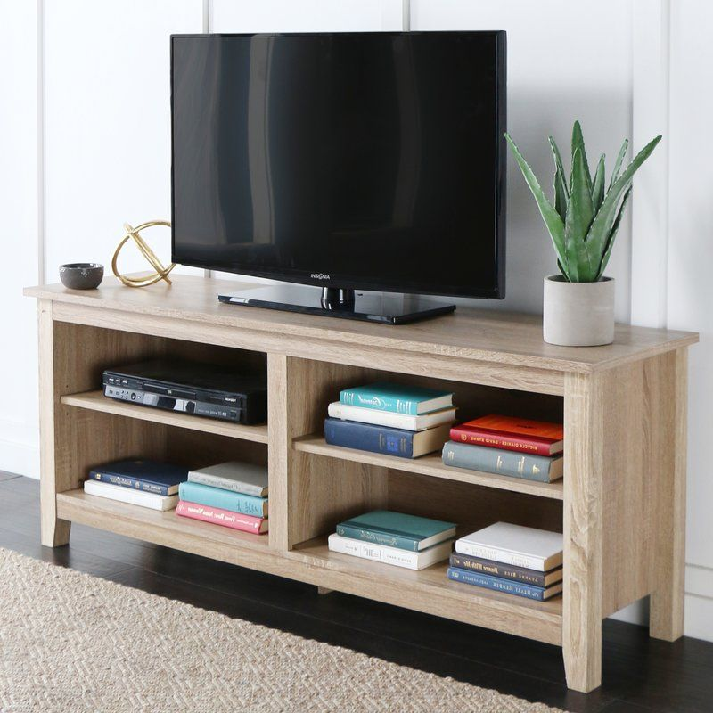 Sunbury Tv Stand For Tvs Up To 60 With Electric Fireplace Included In 2020 Tv Stand With Storage Living Room Sets Furniture Tv Stand Wood