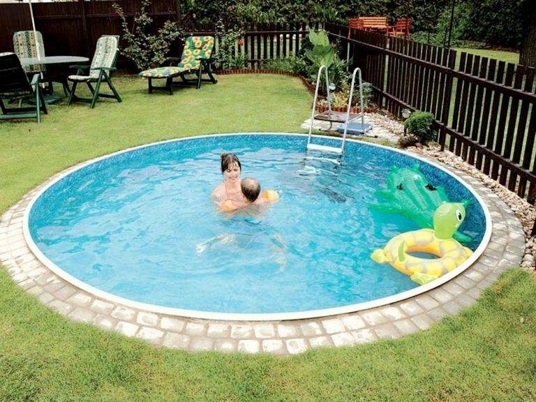 20+ Super kleine Inground Schwimmbäder Design-Ideen  #pool #poollandscapingideas #poollandscaping #garten #gartenpool #poolideen #poolideenonline #poolimgartenideen