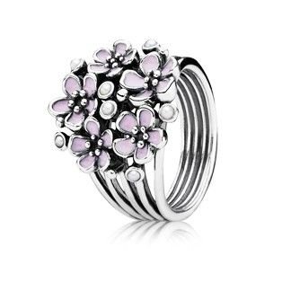 Pandora MOA - Cherry Blossom Bouquet Ring, $75.00 (http://www.pandoramoa.com/cherry-blossom-bouquet-ring/)