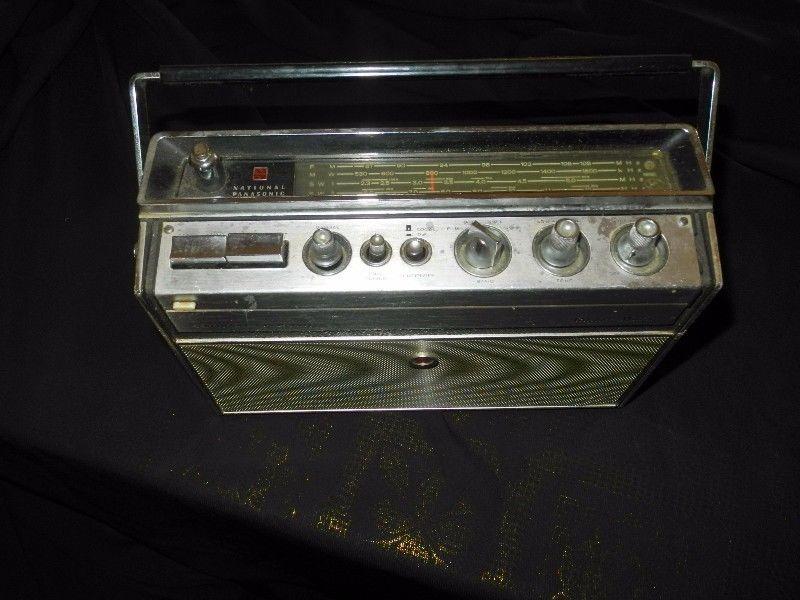 Vintage Panasonic Radar Matic Radio Rf 980w Milnerton Gumtree South Africa Vintage Panasonic Radar Matic Radio Rf 980w Antiques For Sale Vintage Antiques