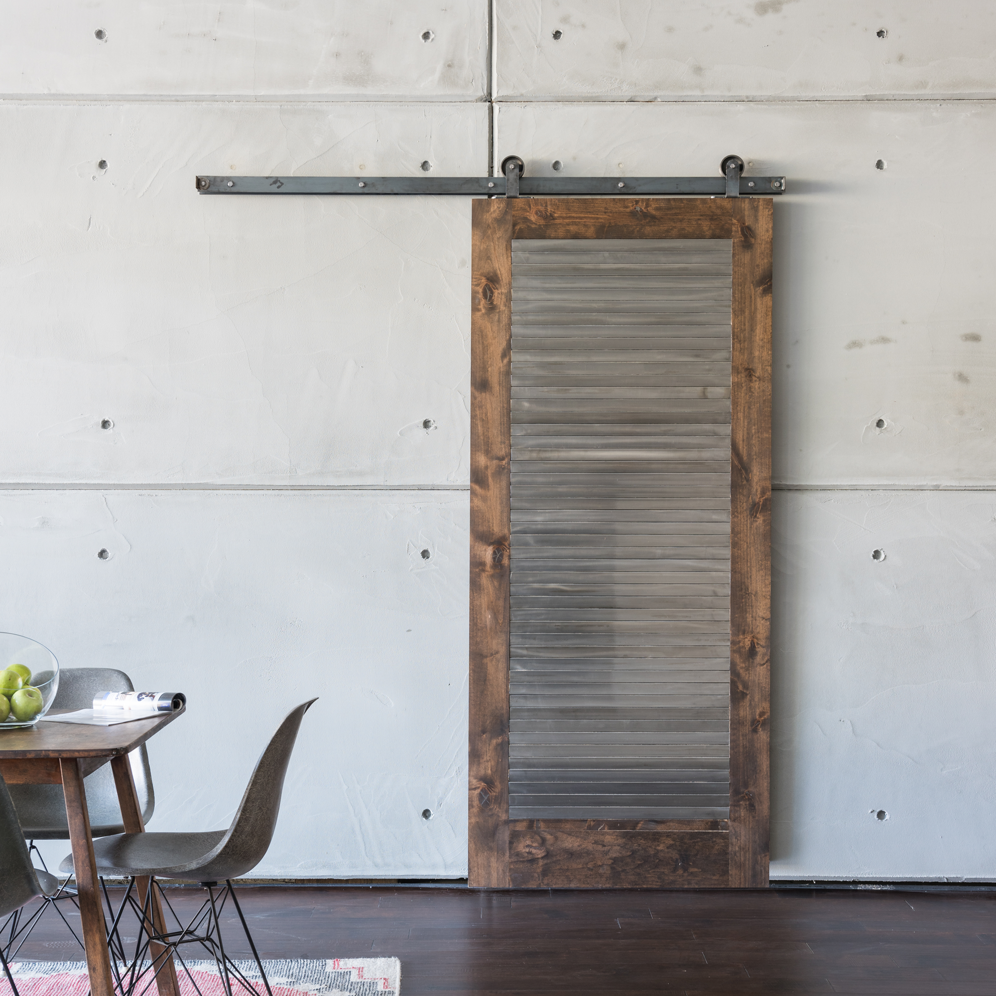 The industrial barn door embodies a modern industrial look adding the industrial barn door embodies a modern industrial look adding style and substance to a barn eventelaan Choice Image
