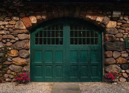 Gorgeous Green Garage Door Color Garage Door Trends Garage Door Styles Garage Door Overhead Door Canada Carriage House Doors Garage Doors Carriage House