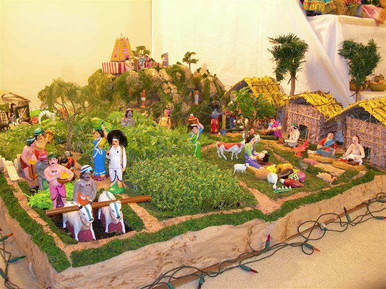 Charming Golu Theme Ideas And Decoration Part - 6: Http://www.google.co.in/blank.html. Indian DollsGanpati Decoration ThemePongal  ImagesCreative IdeasDiy ...