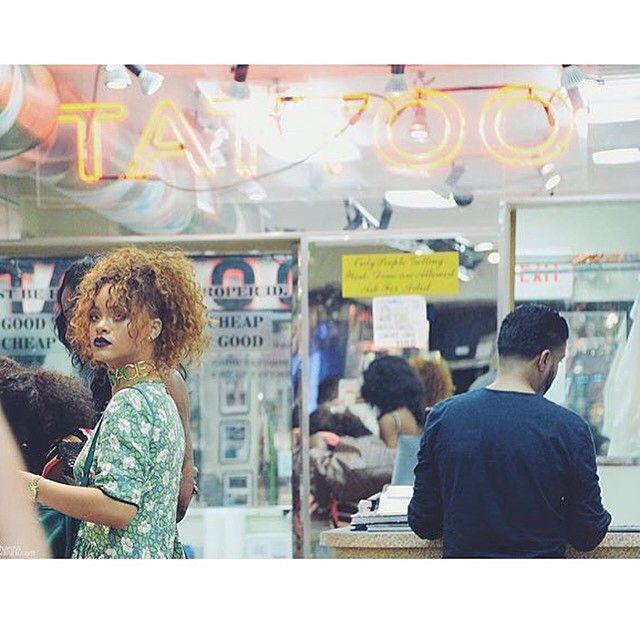 Rihanna in #NYC