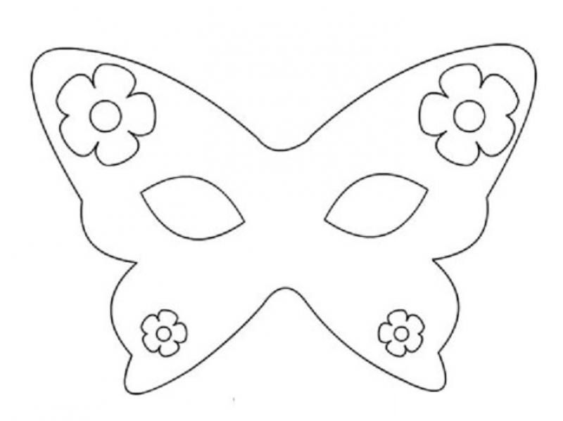 Butterfly Coloring Pages For Kids Preschool And Kindergarten Butterfly Coloring Page Coloring Mask Coloring Pages For Kids