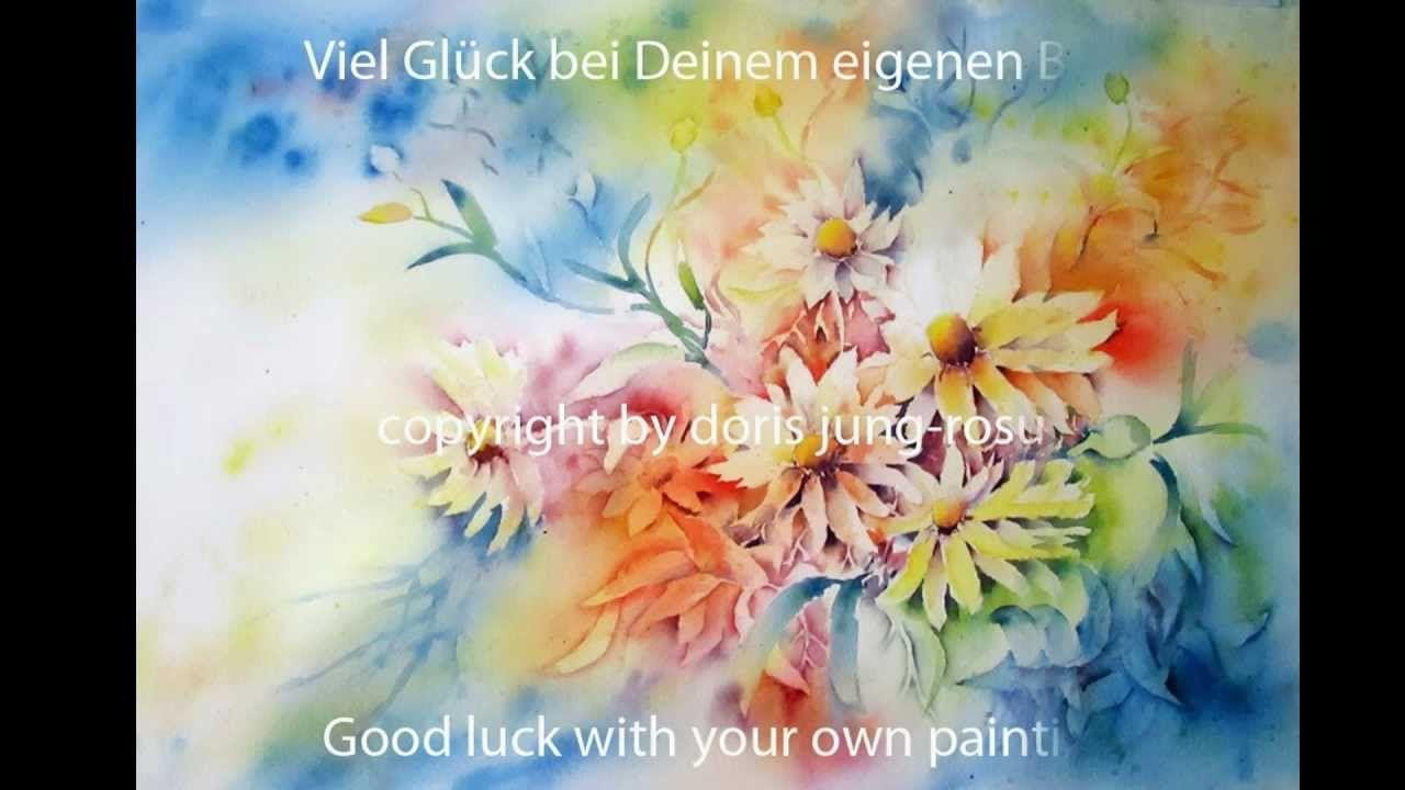 50 steps to a beautiful flower painting tutorial water colour 50 steps to a beautiful flower painting tutorial izmirmasajfo