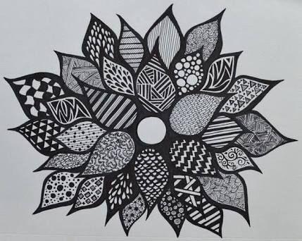 cool designs. Resultado De Imagen Cool Designs To Draw With Sharpie Flowers