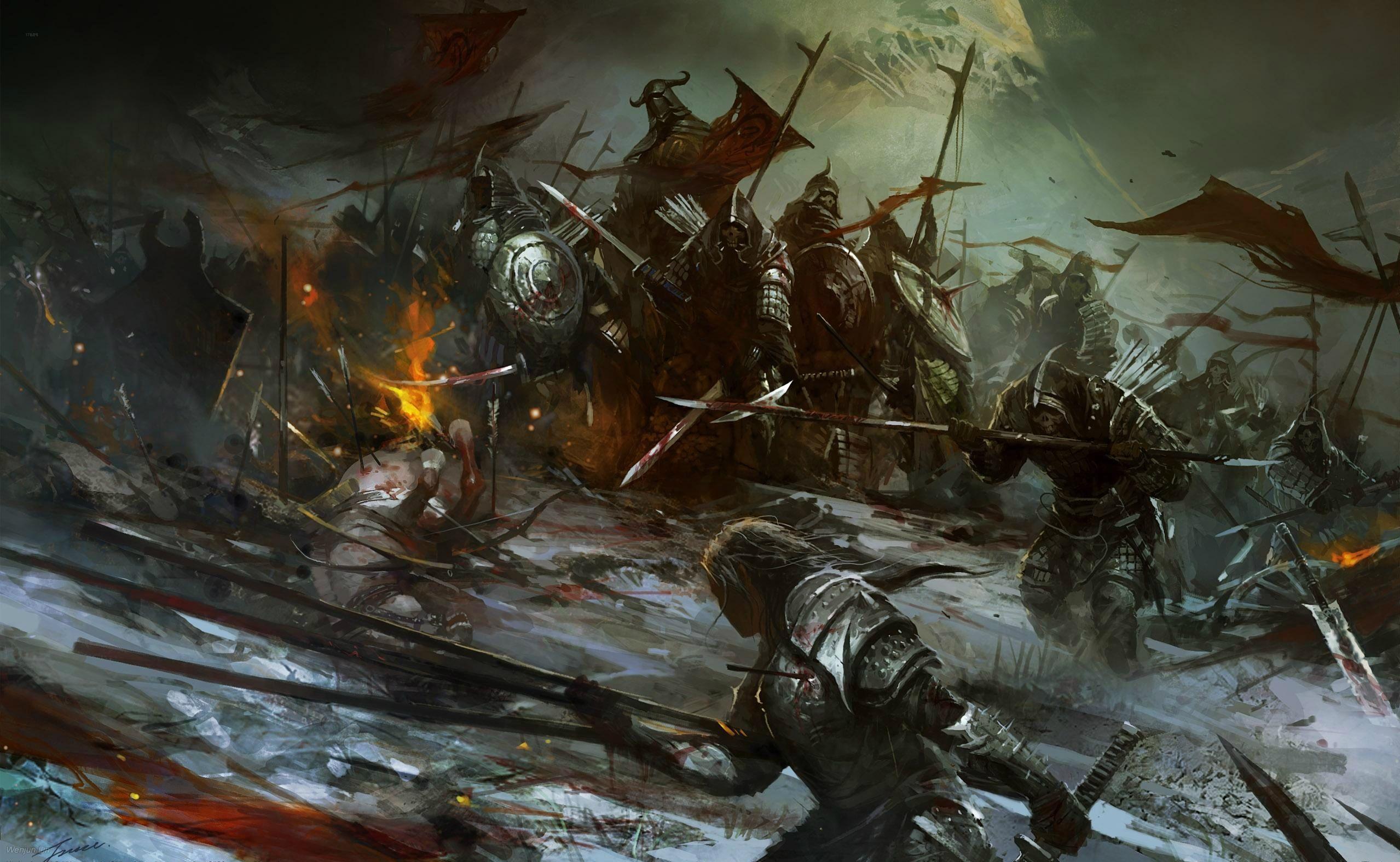 Fantasy Epic Battle Fantasy Drawings Fantasy Concept Art Fantasy Battle