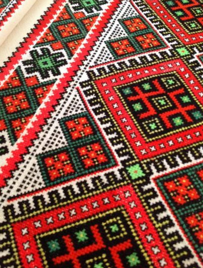 Ukraine, from Iryna | Folk style | Pinterest | Stickerei