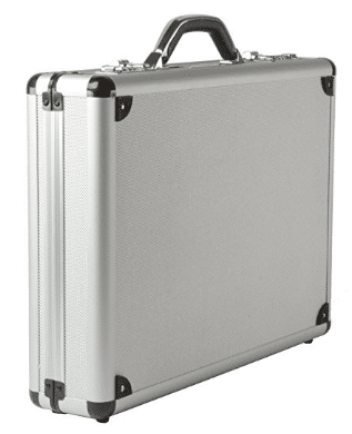 db2fe5a5d Alpine Swiss Aluminum Attaché Case Padded Laptop Briefcase Combo Lock Hard  Sided